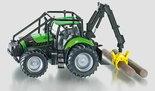 Tractor-Deutz-bosbouwkraan