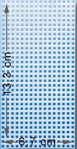 Grondplaat 01  13.3 x 6.7