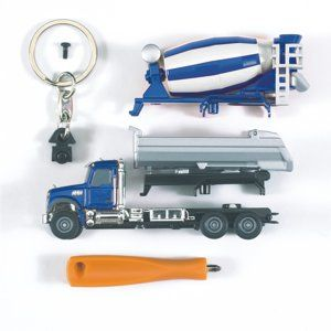 0611 Mack kiepvrachtwagen - betonwagen