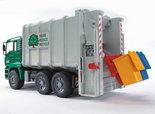 2764--MAN-vuilnisauto-groen-geel