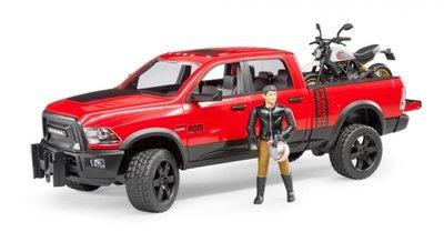 2502 RAM 2500 Power Wagon + Ducati Scrambler