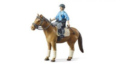 62507 B-World Bruder Politie met paard